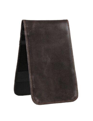 Winston Collection Distressed Leather Yardage Book & Scorecard Holder USA