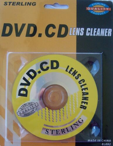 Sterling All-Purpose Lens Cleaner for Media DISC-PLAYERS {DVD, BR, CD, Car Radio