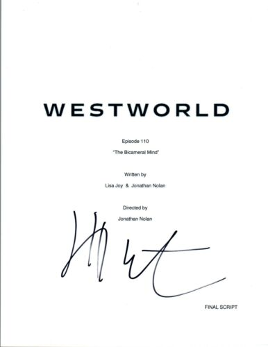 Jeffrey Wright Signed Autograph WESTWORLD The Bicameral Mind Episode Script COA