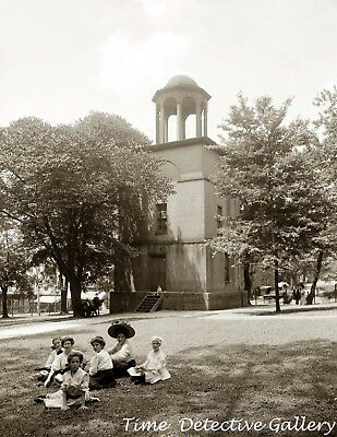 Old Bell Tower  Richmond  Virginia   1908   Historic Photo Print