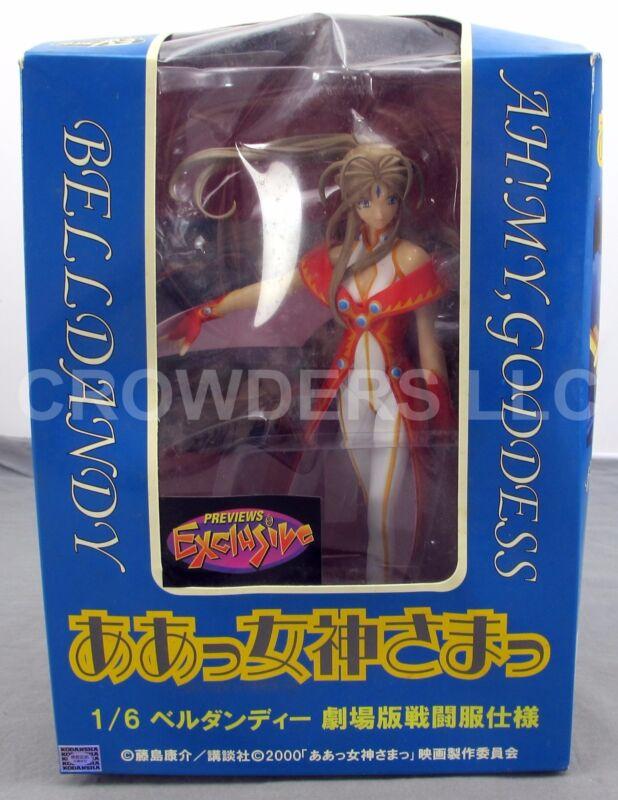 Ah! My Goddess BELLDANDY Red Dress 1/6 Scale PVC Figurine Previews Exclusive