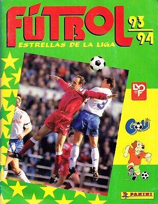 ALBUM CROMOS FUTBOL FACSIMIL ESTRELLAS DE LA LIGA 93-94 COMPLETO Y NUEVO