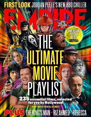 EMPIRE Magazine Sept 2020: RIZ AHMED Star Wars BATMAN The King's Man
