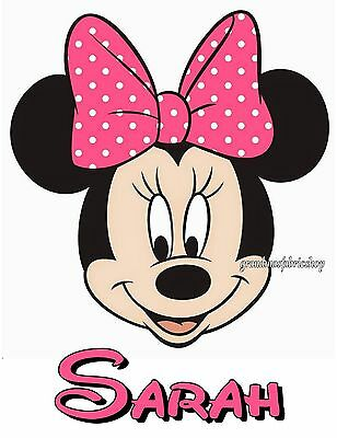 NEW Custom Personalized Minnie Mouse t shirt party favor birthday gift Add - Minnie Mouse Custom