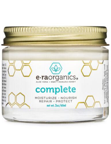 Era Organics 10-in-1 Facial Moisturizer With Aloe Vera, Manu
