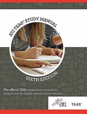 Ati Teas Review Manual  Sixth Edition Revised By Ati  Assessment New