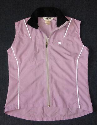 Pearl Izumi Light Pink Lightweight Cycling Vest, Women's M