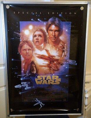Star Wars Episode IV D/S Special Edition Drew Struzan 27x40 Movie Poster 1997