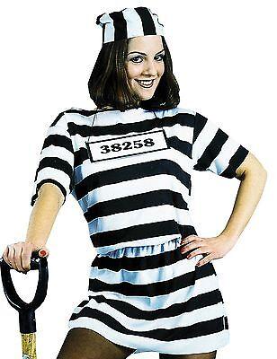 Convict Women Costume  - FREE STANDARD SHIPPING ](Womens Convict Costume)