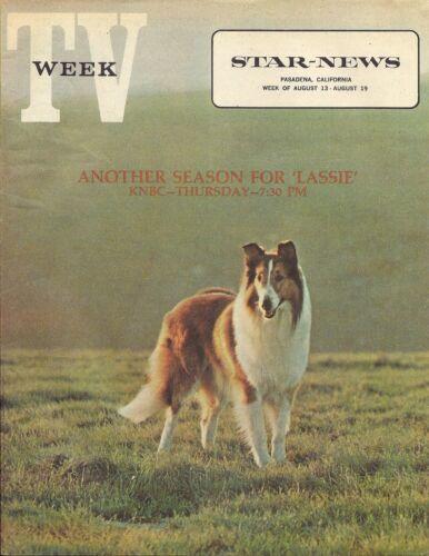 RARE MINT 1972 LASSIE TV WEEK GUIDE MAGAZINE REGIONAL MINT