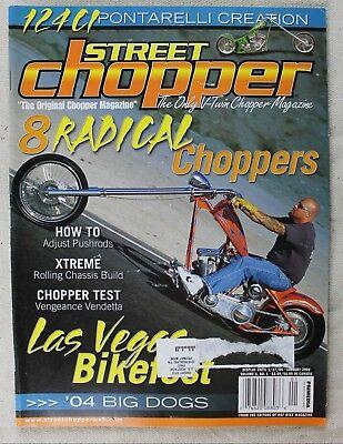 Street Chopper Magazine, January 2004, 8 Radical Choppers, Las Vegas Bike Fest