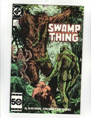 Swamp Thing (2nd Series) #47 VF/NM; - Alan Moore Story