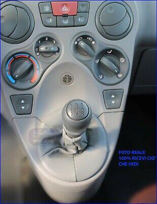 Fiat Panda w 169 Kit Cuffia Leva Cambio - Pomello - Ghiera dal 2003>2012 Auto