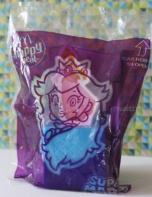 Prinzessin Peach Spinning Game Spielzeug Super Mario Mc.D England 2018 Drehspiel