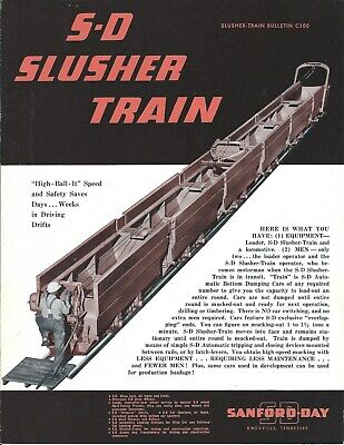 Equipment Brochure - Sanford-day - Slusher Train - Mining Construction E5447