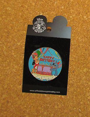 Lilo And Stitch Happy Birthday (Disney   Pin 26353:  Happy Birthday Lilo & Stitch Disney Badge Pins XRARE)