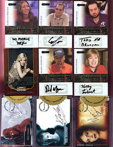 2006 Razor Poker 12 Pack Lot Possible Daniel Negreanu Signed Autograph Card AUTO