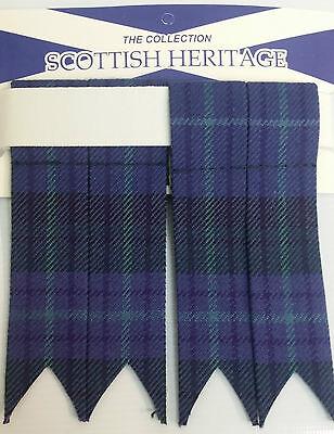 Spirit of Alva Adult Garter Sock Scottish Kilt Flashes SALE