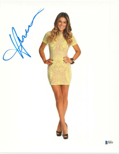 SERINDA SWAN SIGNED 11X14 PHOTO GRACELAND BECKETT BAS AUTOGRAPH AUTO G