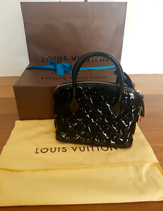Genuine Limited Edition Monogram Louis Vuitton Alma BB Handbag