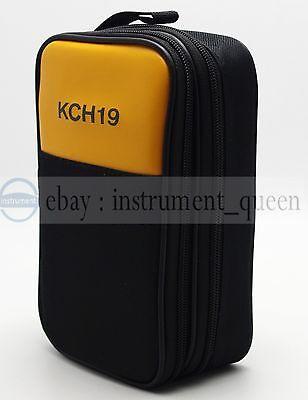 Double Layer Zipper Case Bag Use For Fluke Hioki Sanwa Uni-t Testo Multimeters