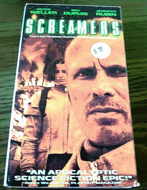 Screamers (VHS, 1996, Closed Captioned) Peter Weller Roy Dupuis Jennifer Rubin