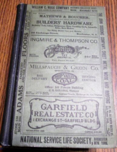 1917 ROCHESTER NY GENERAL RESIDENTIAL AND BUSINESS DIRECTORY