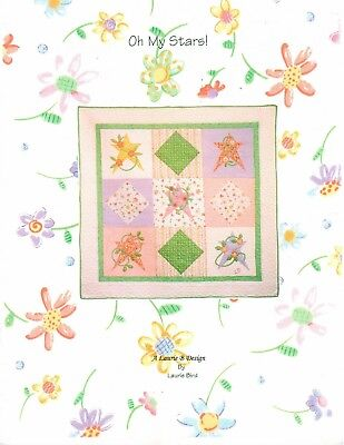 Oh My Stars! Quilt Pattern by Laurie B (Laurie Bird) Designs