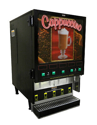 Bunn Fmd-5 Black Cappuccino Dispenser-5 Flavor Powdered Mix Machine