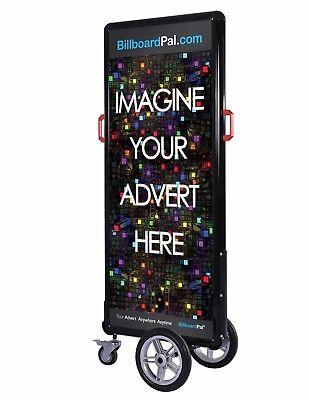 Advertising Board Advertising Sign Walking Billboard Led