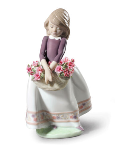 LLADRO MAY FLOWERS SPECIAL EDITION #9178 BRAND NEW IN BOX GIRL COLORFUL SAVE$ FS