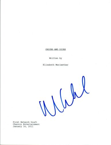 Max Greenfield Signed Autographed NEW GIRL Pilot Episode Script COA VD