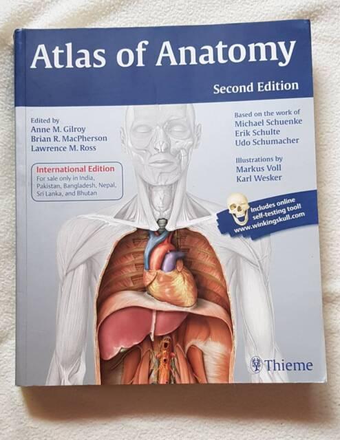 Thieme Atlas of Anatomy (Second Edition) | Textbooks | Gumtree ...