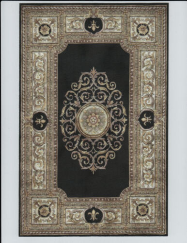 """1:12 or 1"""" Scale Miniature Dollhouse Area Rug approx 6-7/8"""" x 10-1/2""""  0001139"""