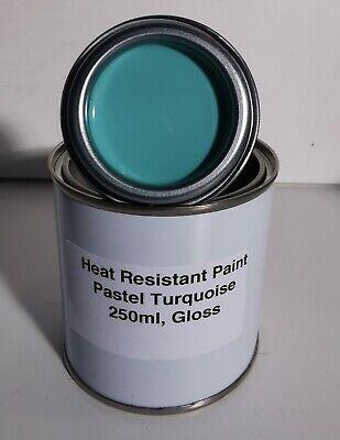 250ml Pastel Turquoise Heat Resistant Paint, Car, Engine Brake Radiator Calliper