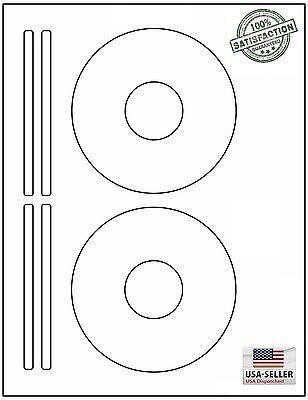 100 Cd Dvd Laser And Ink Jet Labels Templates 5931 8931 86918692. 50 Sheets