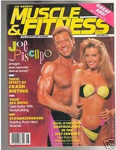 Muscle-Fitness-Bodybuilding-Strength-Magazine-Joe-Piscopo-6-90: www.ebay.com/itm/Muscle-Fitness-Bodybuilding-Strength-Magazine-Joe...