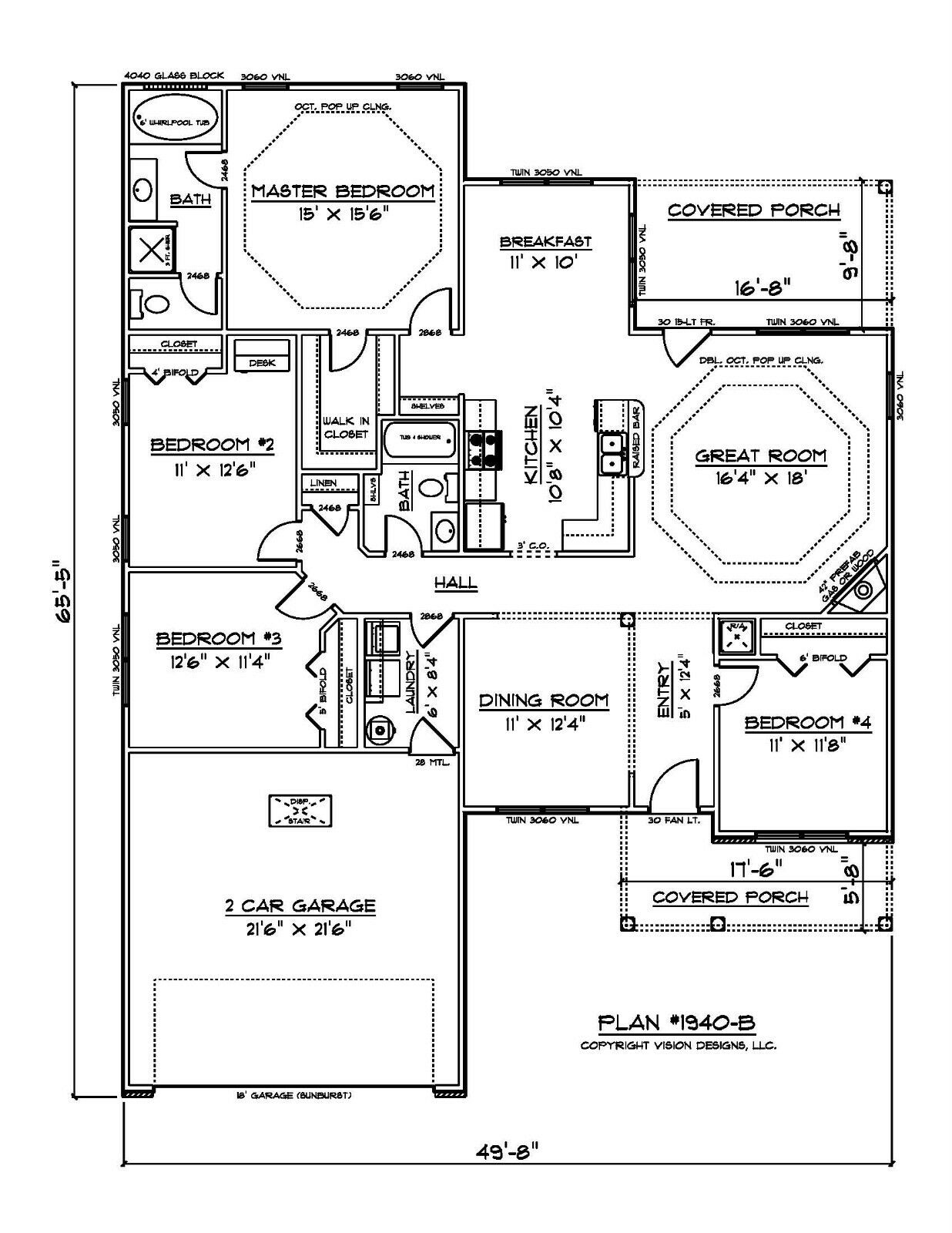House plans for 1940 sq ft 4 for 1940 house plans