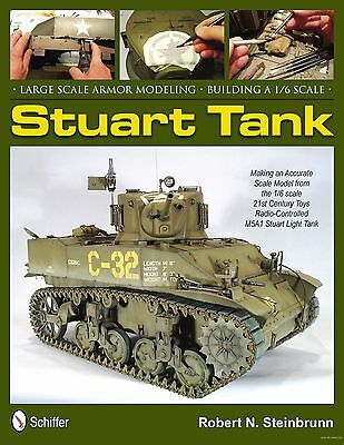 Book - Stuart Tank - Large Scale Armor Modeling - Building A 1/6 Scale Tank