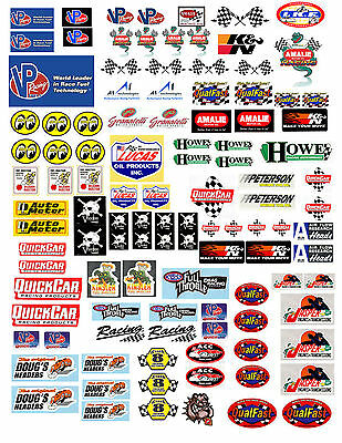 1:18 Decals For Diecast And Model Cars & Diorama Vp Fuels