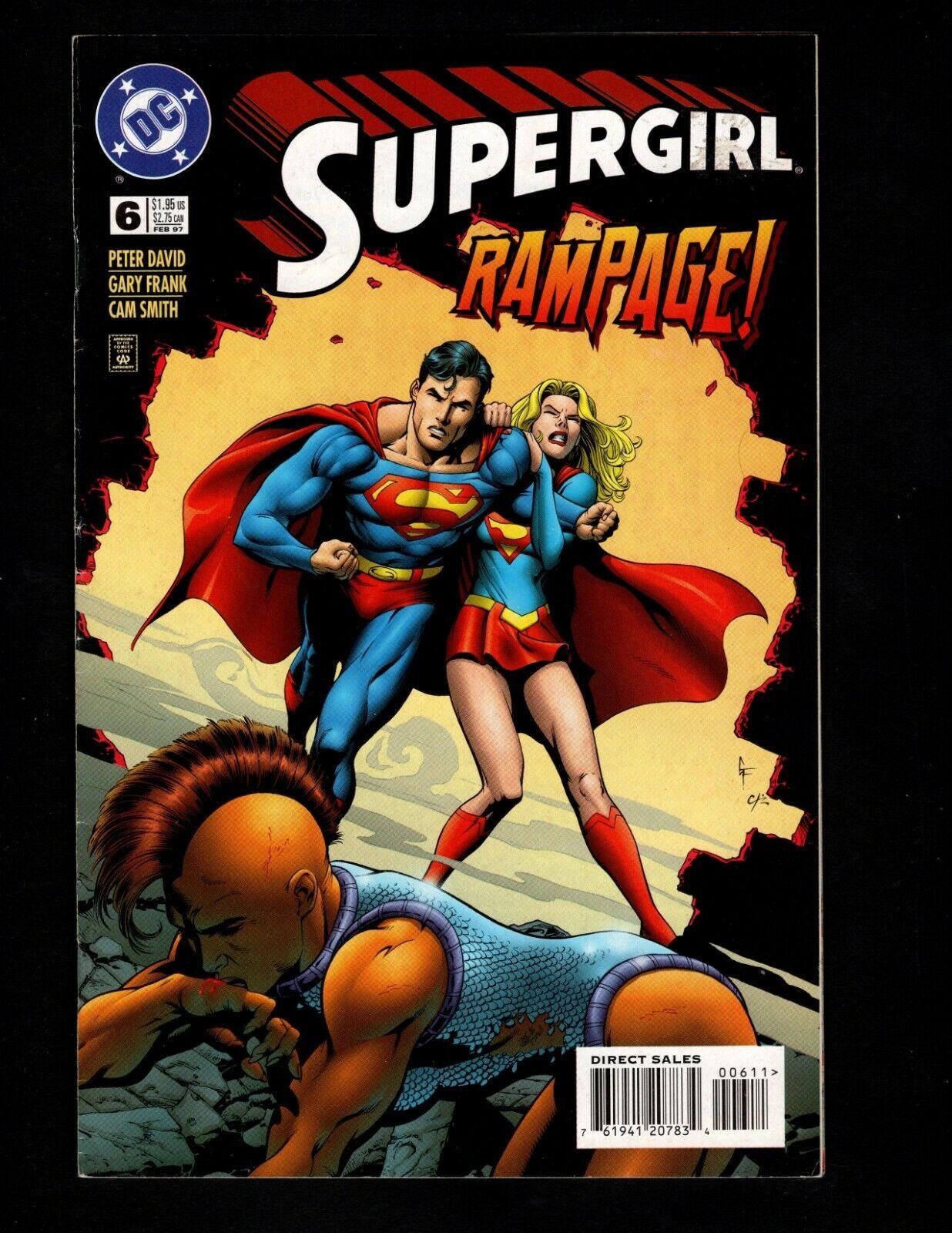 Supergirl 6 Feb 1997, DC  - $2.00