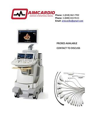 Philips Ie33 Ultrasound Warranty Includedprobes Available