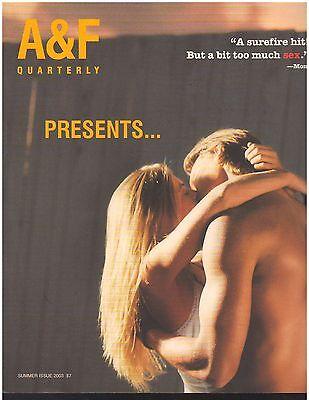 Abercrombie & Fitch 2003 Summer Catalog A&F Quarterly Bruce Weber James Marsden