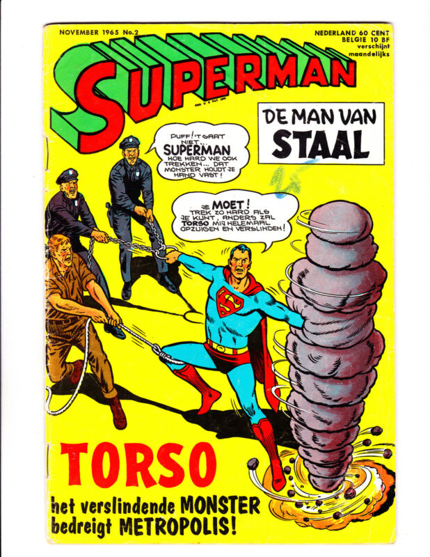 Superman   2    1965    Nederland Edition    Superman on Cover