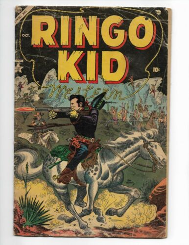 1954 Ringo Kid Western #2 Golden Age Western Atlas Comics  HARD TO FIND KEY!!