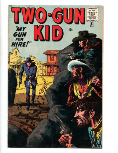 Two-Gun Kid Western Comics # 51 (1959) Atlas/Marvel