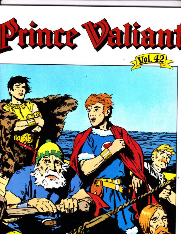 "Prince Valiant Vol 42-2001-Strip Reprints Soft Cover-""Trip/Thule1st Print! """