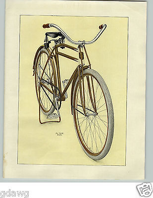 1919 PAPER AD 2 Page Rev-O-Noc Rookie Bicycle OVB Our Very Best (Best Color For Bicycle)