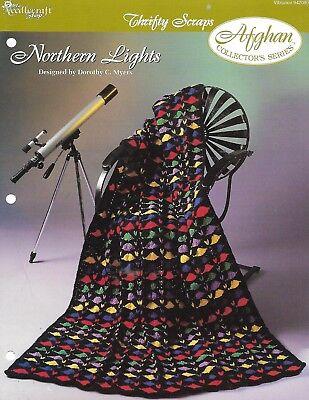 Needlecraft Shop NORTHERN LIGHTS AFGHAN Crochet  -