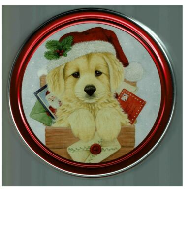 Golden Retriever Dog Puppy Collectible Tin